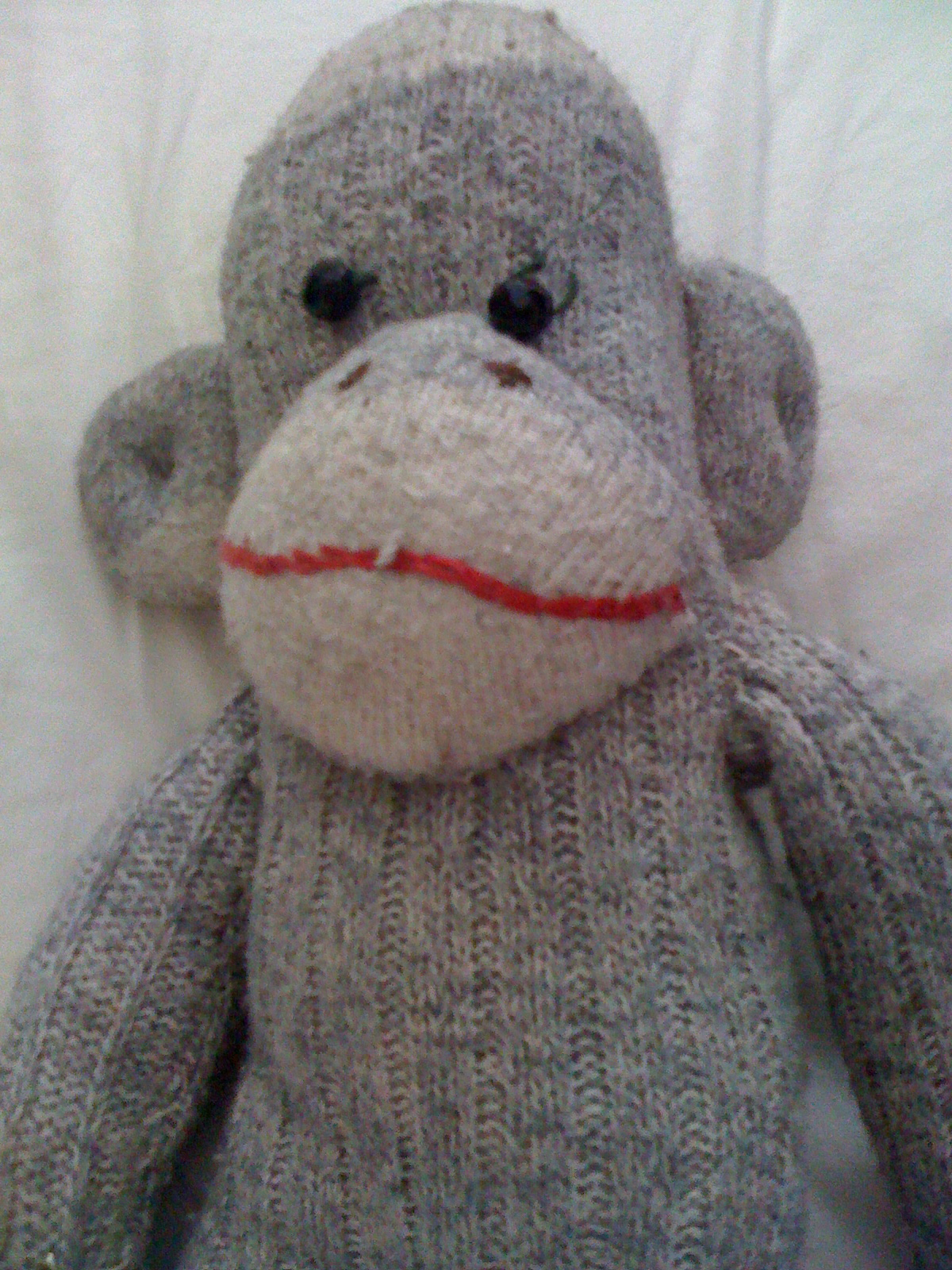 The first sock monkey I ever made… | POSTSTREET: self