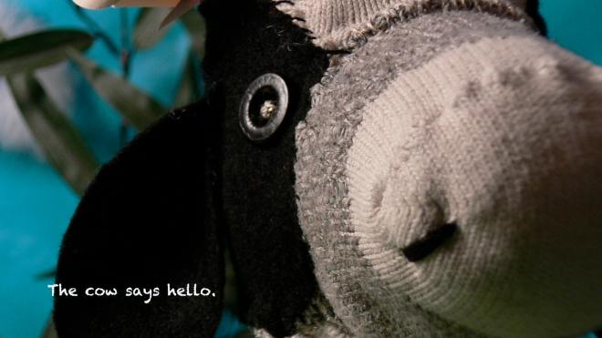 I.Cow says hello